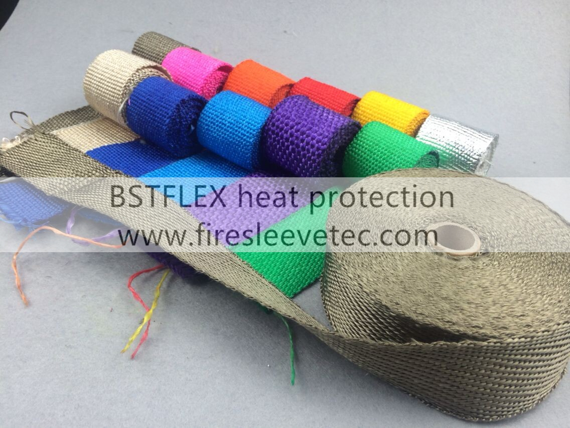 color exhaust heat wrap
