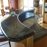 Quality approved chinese absolute black granite for countertop