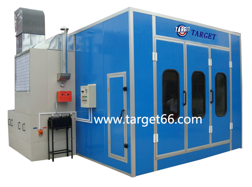 spray painting cabin TG-60B