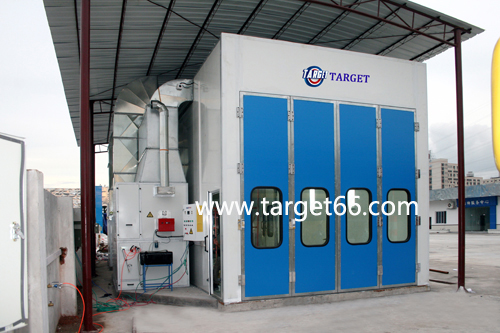 truck and bus spray booth TG-12-45