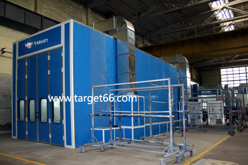 truck or bus spray painting booth TG-15-50