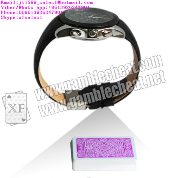 XF New watch camera for poker analyzer|marked cards|poker cheat|infrared camera