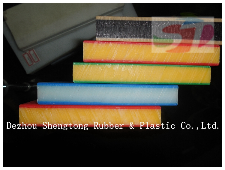 Layered HDPE plastic sheet for Children's playground