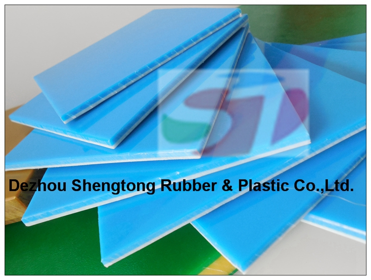 China supplier PE material plastic sheet virgin polyethylene white board