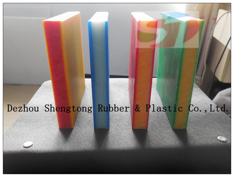 Polythylene plastic 18mm plastic sheet