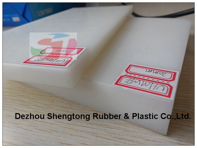 UHMWPE HDPE material plastic plate with various properties