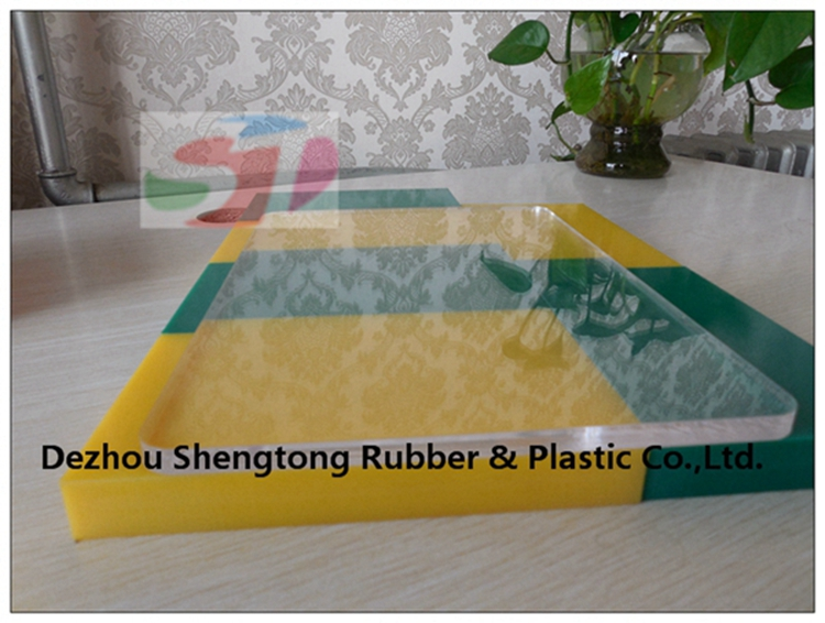 PE material high temperature plastic sheet in China