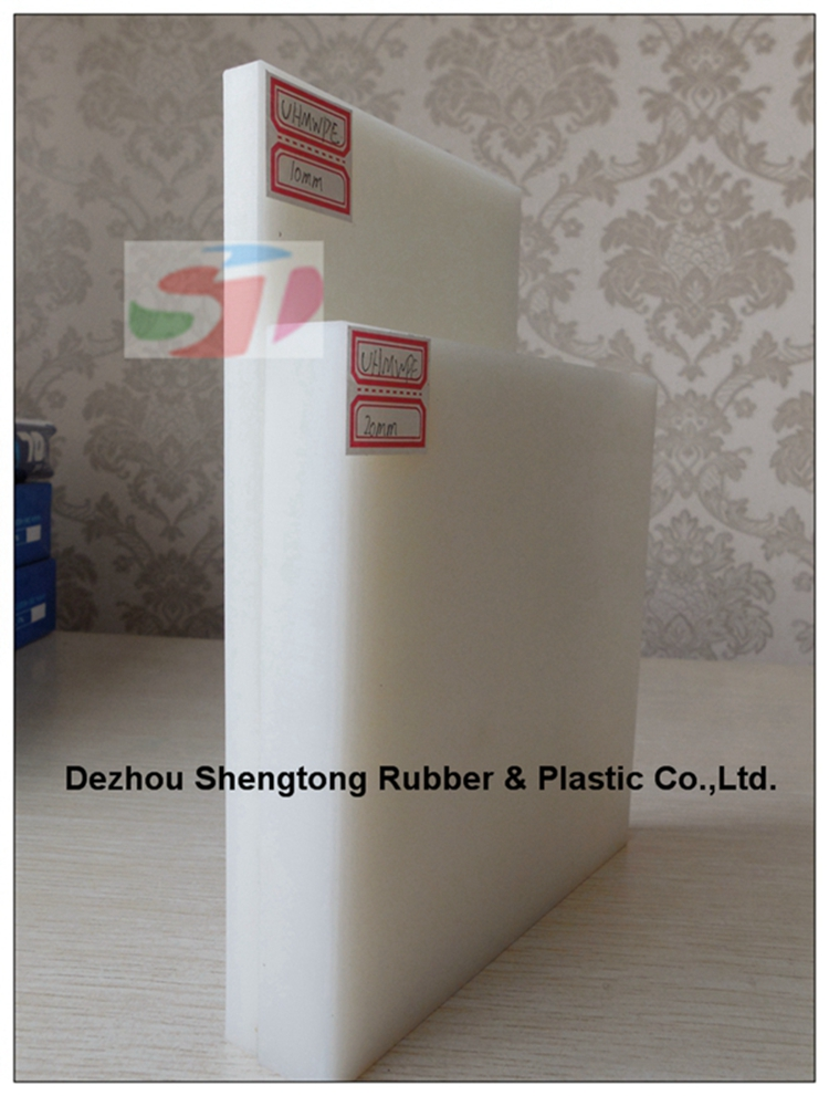 Plastic board with pe material