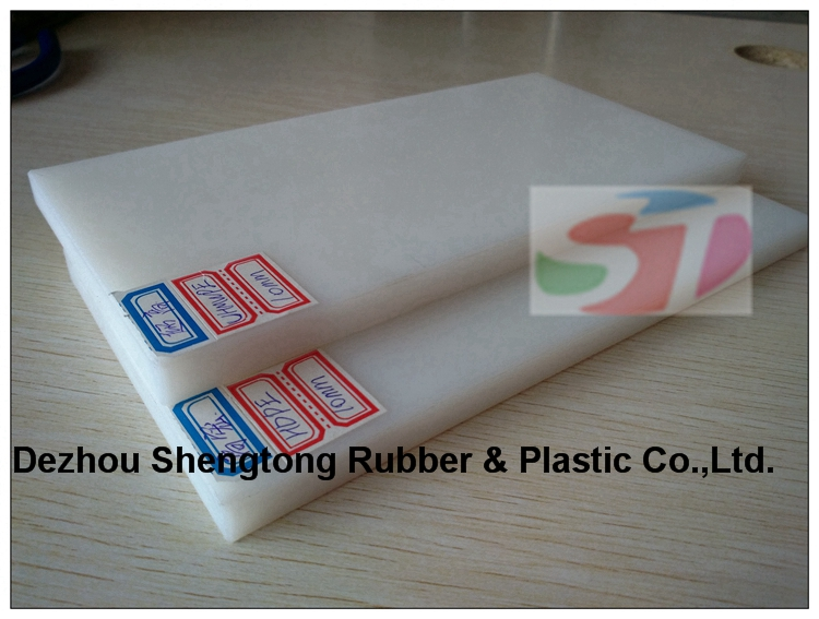 Polyethylene sheet with uhmwpe hdpe material