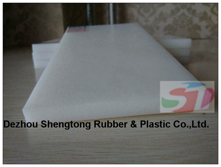 High strength and high rigidity UHMWPE sheet