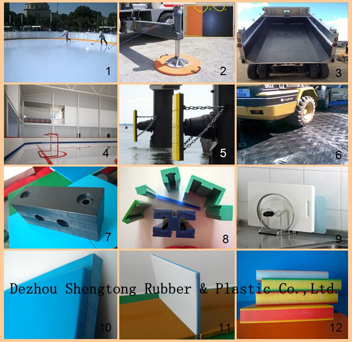 China supplier engineering plastic sheets/ uhmwpe manufactorers