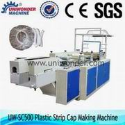 Disposable Plastic Strip Cap Making Machine