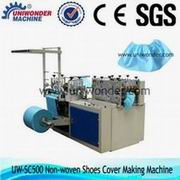 Disposable Non-woven Shoes Cover Making Machine