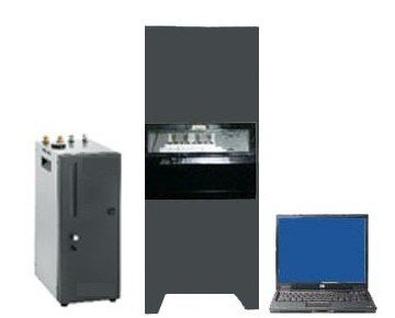 Automatic lubricating grease viscosity testing equipment