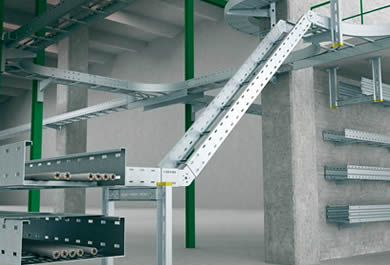 Large span cable tray