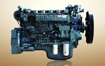 Howo truck part WD615 EURO II diesel engine