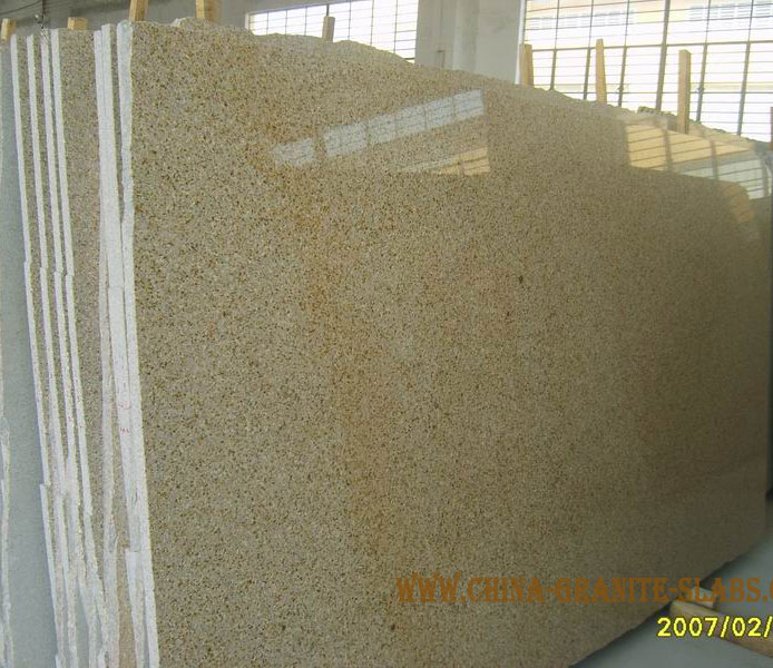 G682 Granite Slabs,yellow Gold Granite Big and Gangsaw Slabs
