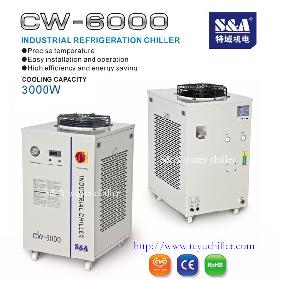 S&A water chiller with high precision thermoregulation