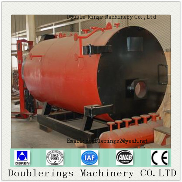WNS gas/oil fired hot water boiler, fire tube hot water boiler