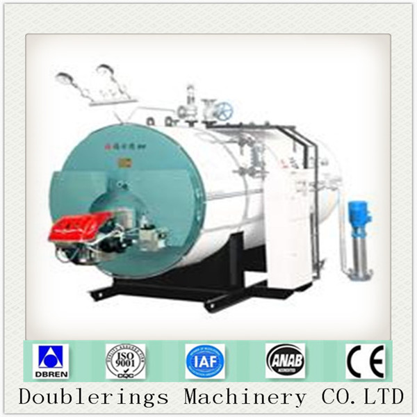 China WNS Gas Fired Hot Water Boiler, gas hot water boiler