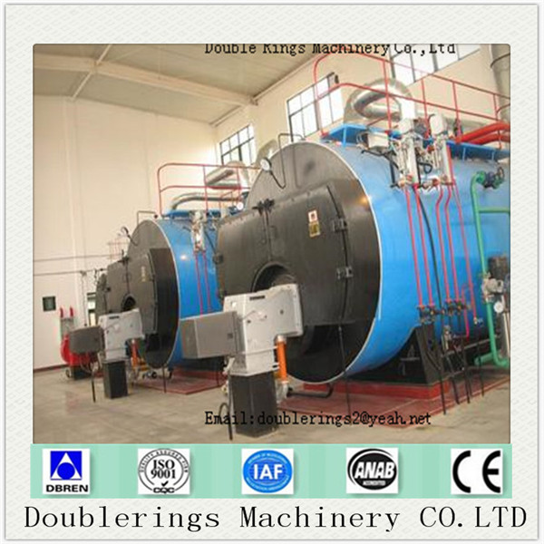 WNS hydrogen fired hot water wet back automatic hydrogen heating boiler