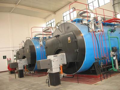 Gas fuel fired condensing boilers machines