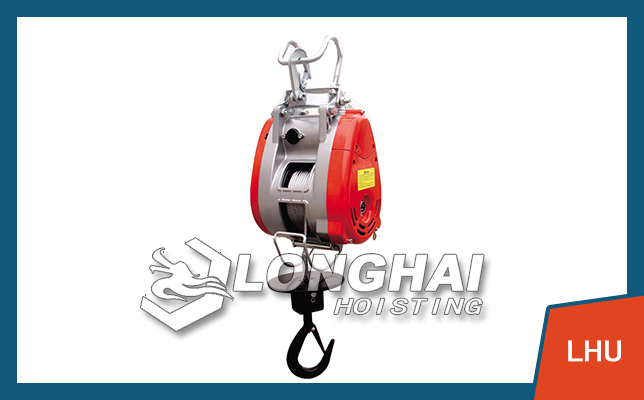 Electric Mini Wire Winch of LONGSHENG Brand 160kg-500kg