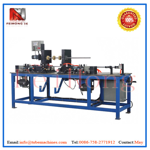 automatic tube skinning machine for electric heaters