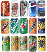 Canned and Bottled Soft Drink , Fanta, Coca Cola, Sprite, Mirinda, Malt, Malta Wolters, Vitalis Malt