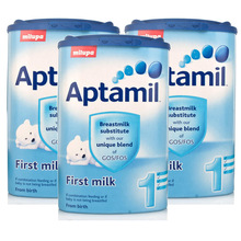 German Aptamil Baby Milk Powder/ Infant Formula all Stages Available
