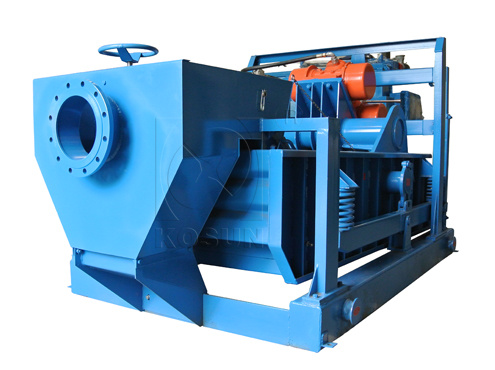 Shale shaker Hi-speed conveyance of cuttings