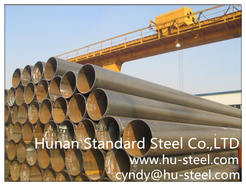 ERW steel pipe China Manufacturer
