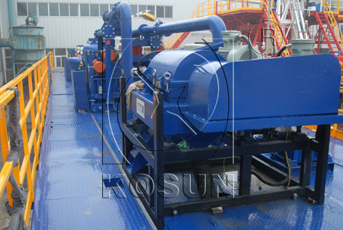 KOSUN Mud Decanter Centrifuge