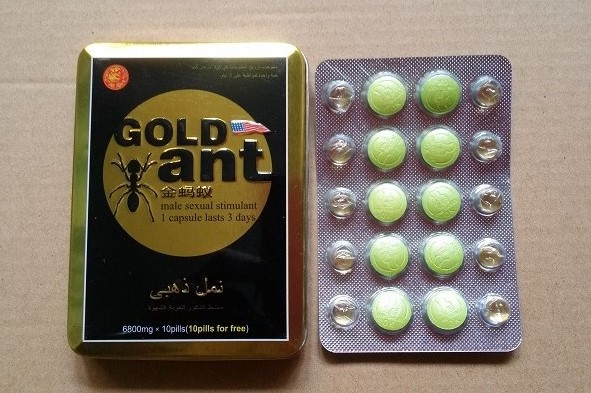 Gold Ant Sex Healthy Pills Adult Sexual Power Enhancement Products