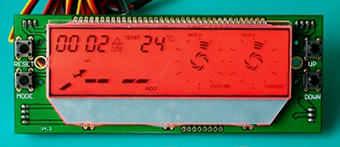 Temperature Controlled Chamber By Temprature Controller With LCD Dispaly
