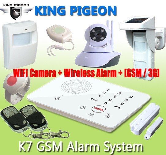 GSM 3G Wireless Home Alarm System