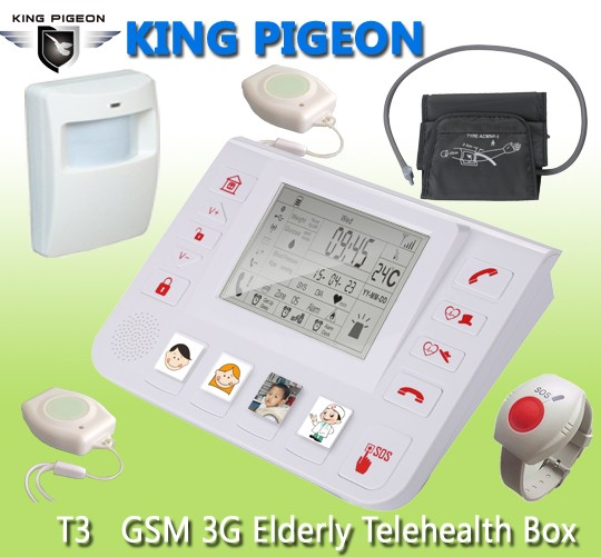 GSM 3G Senior Healthcare Helper