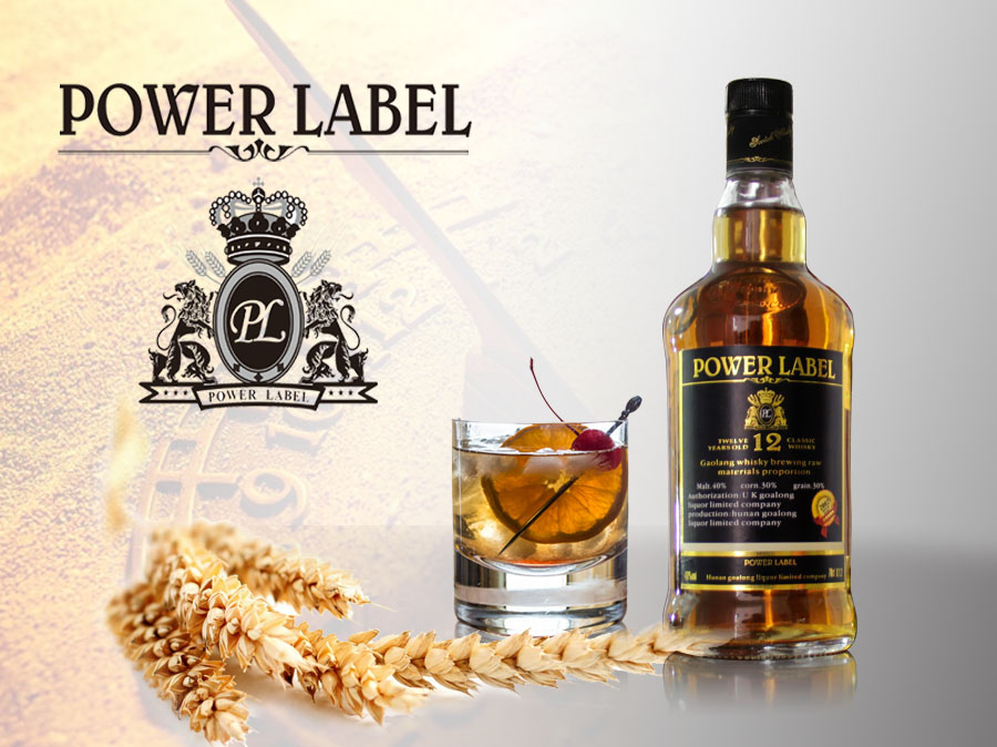 POWER LABEL Whisky