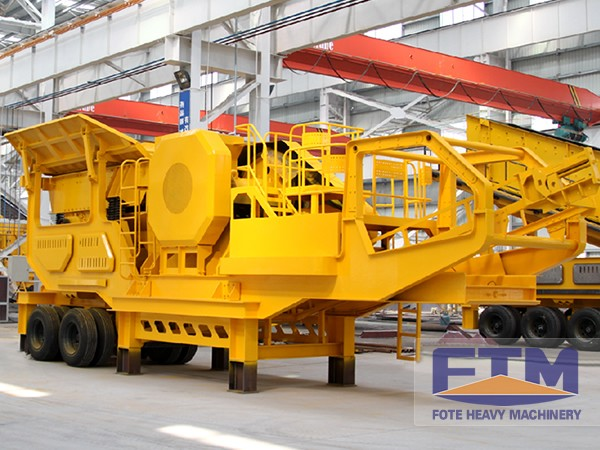 Mobile Crushing Machine Prices/Iron Ore Mobile Crusher