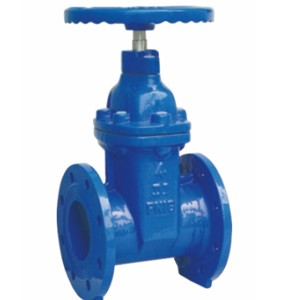 Non-Rising Stem Resilient Seated Gate Valve, DIN