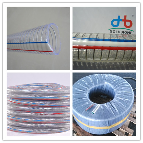 pvc wire steel hose