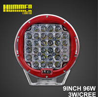 9inch 96W off road led work light for Car, Spot Flood beam of led driving light