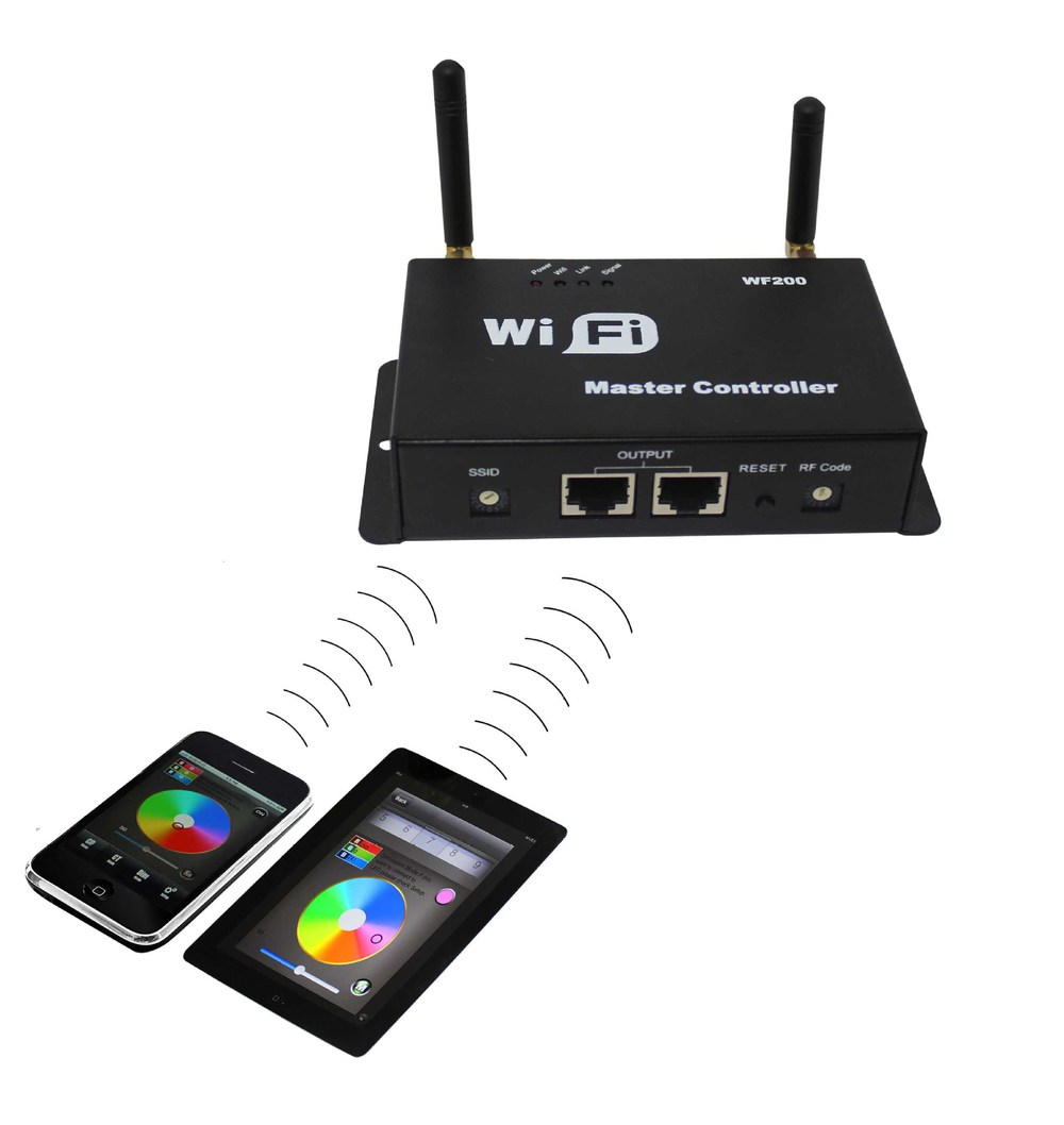 WiFi Multi point LED Controller WF200