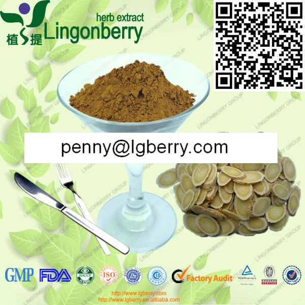 FDA standard pure Astragalus Root extract powder