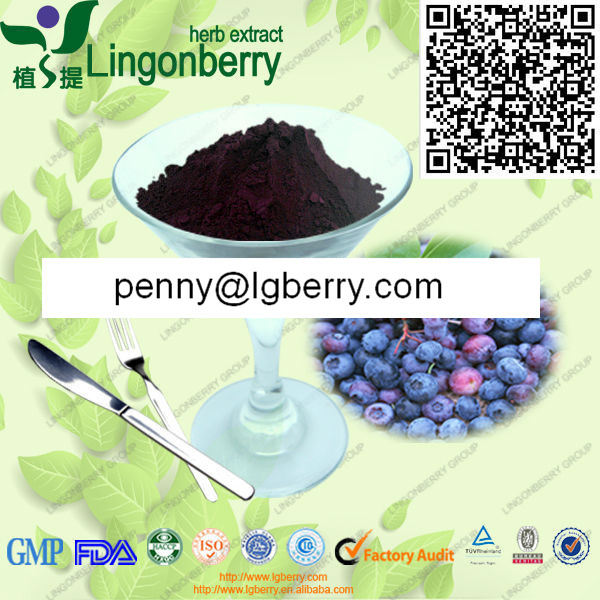 Wild blueberry extract / blueberry anthocyanin