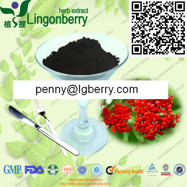 Wild Elderberry Extract Anthocyanin 1%-70%UV