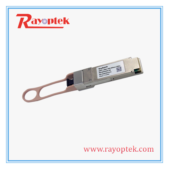 Ethernet 40G Distance Up To 300m QSFP SR4 Optic Module