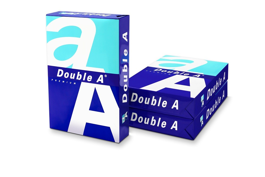 Double A A4 paper 80 gsm from Thailand