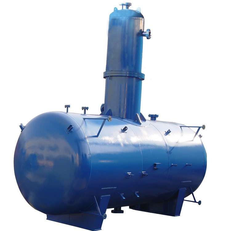 Atmospheric heat spray deaerator