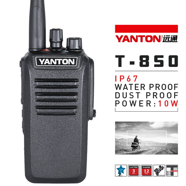 10w power two way radio transceiver T-850